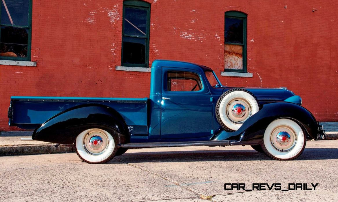 HUDSON PICKUP truck retro wallpaper