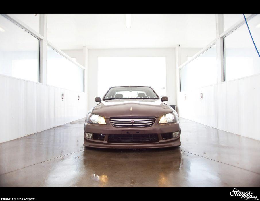 Lexus IS300 tuning custom wallpaper