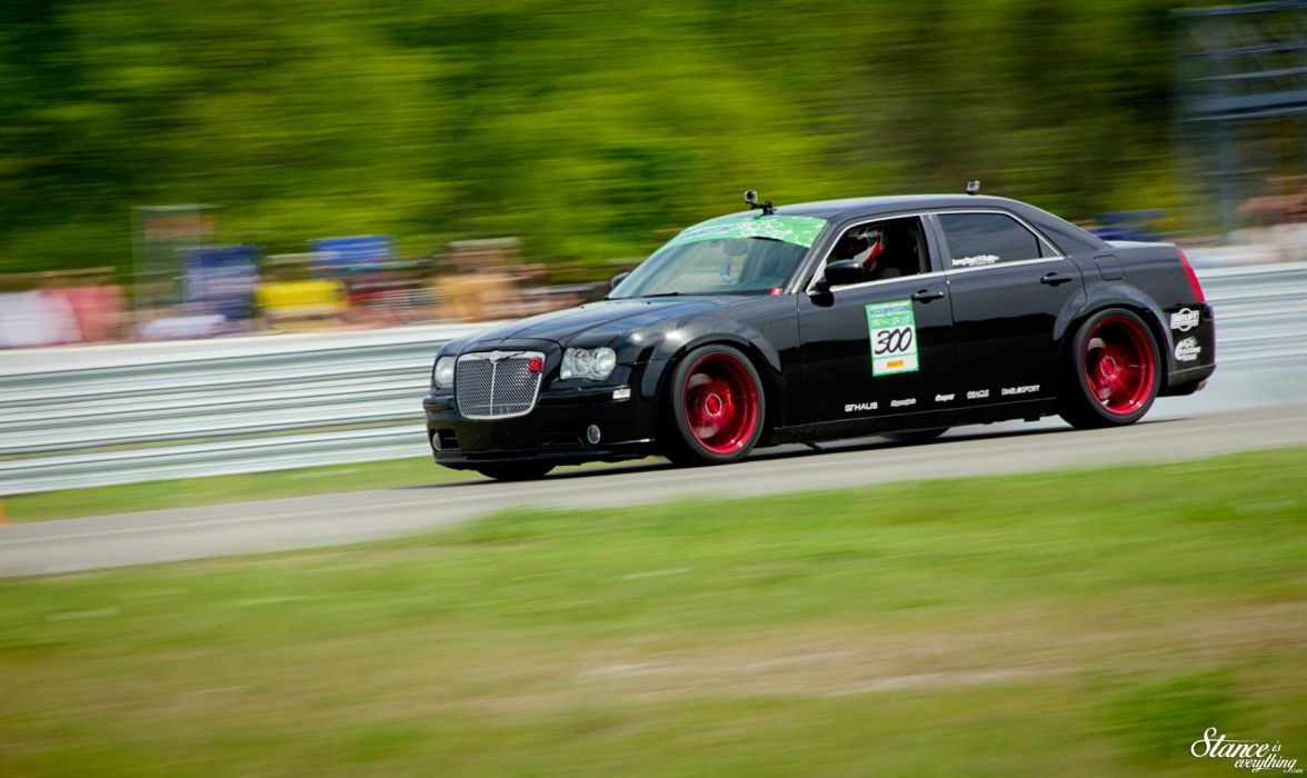 Chrysler 300C SRT8 tuning custom wallpaper