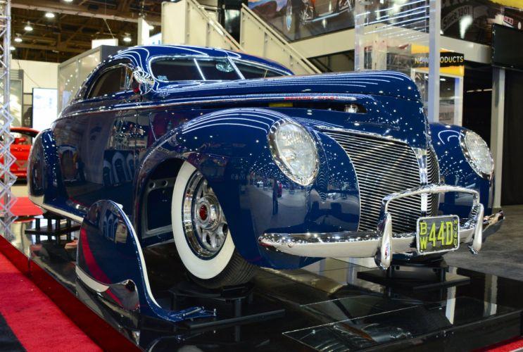 1940 Mercury three-window coupe custom retro lowrider hot rod rods wallpaper