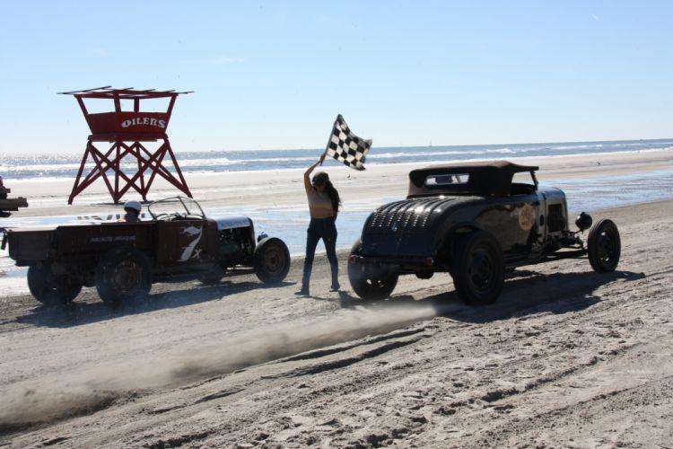 race racing custom rally retro vintage sand drag wallpaper