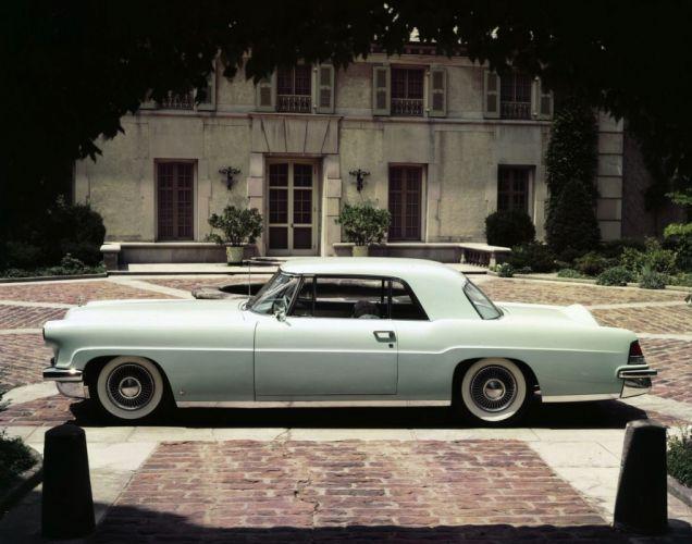 1956 Lincoln Continental Mark-II retro luxury wallpaper