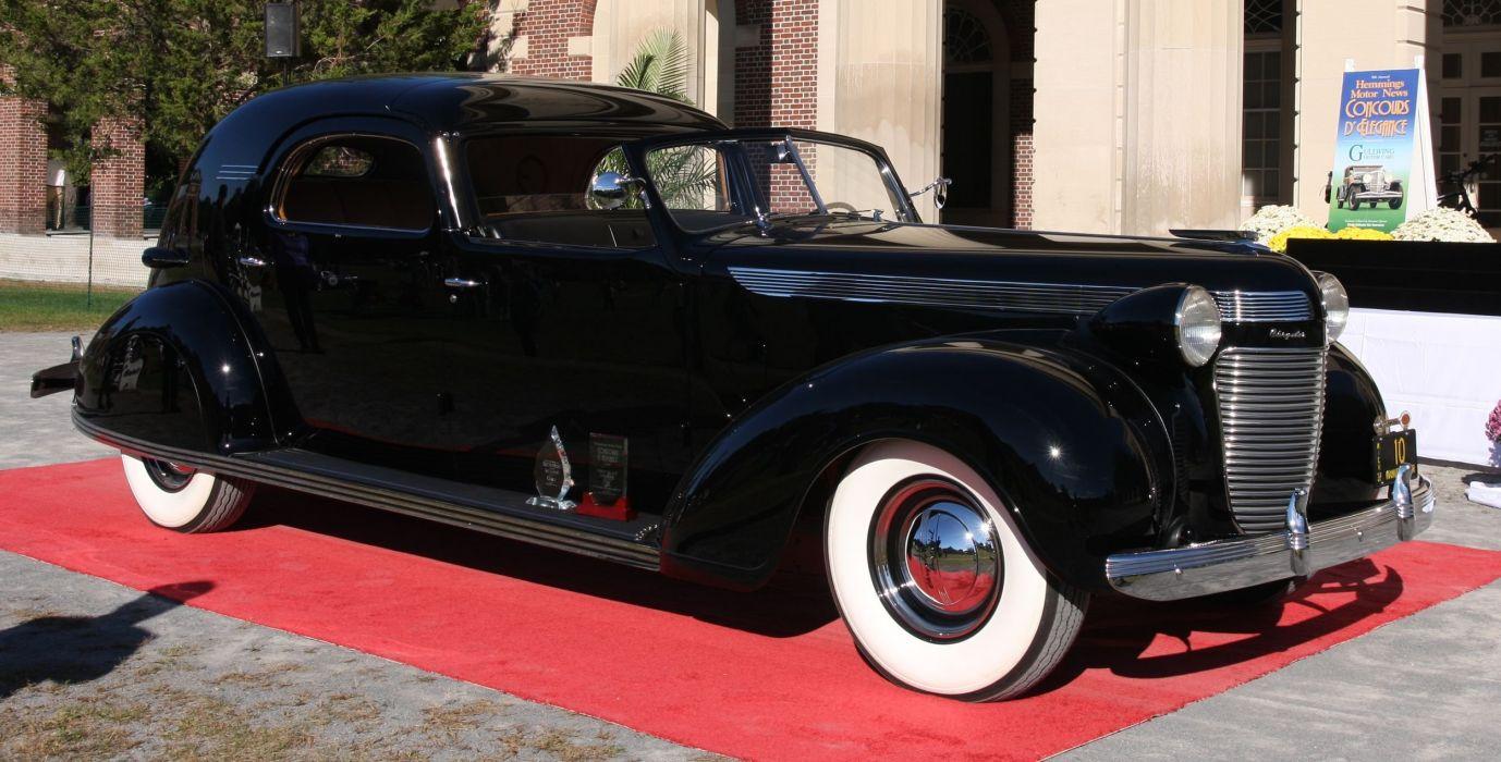 1937 Chrysler Imperial C-15 TownCar luxury retro vintage wallpaper