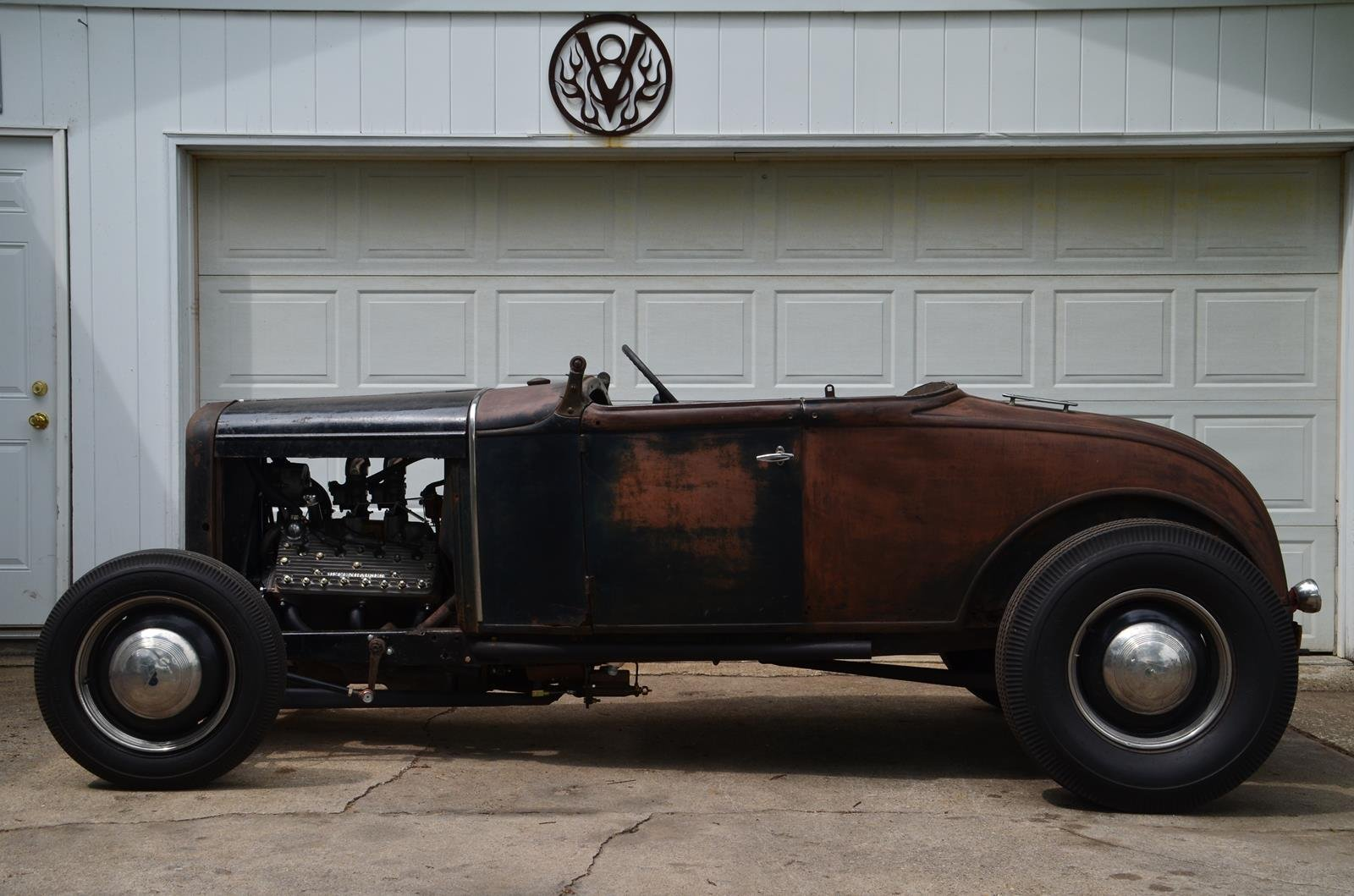 1930 Ford Roadster Race Racing Custom Retro Vintage Hot