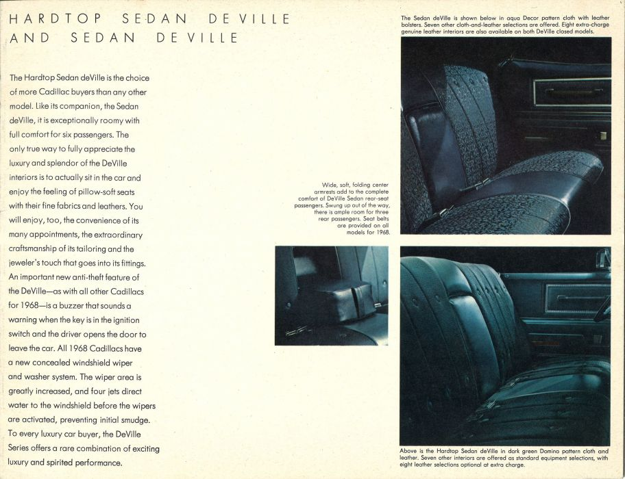 1968 Cadillac luxury classic poster wallpaper