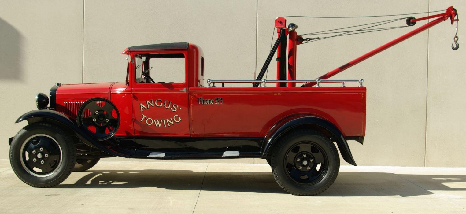 Ford Model-AA truck retro vintage transport wallpaper