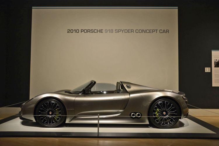 2010 Porsche 918 Spyder concept supercar wallpaper