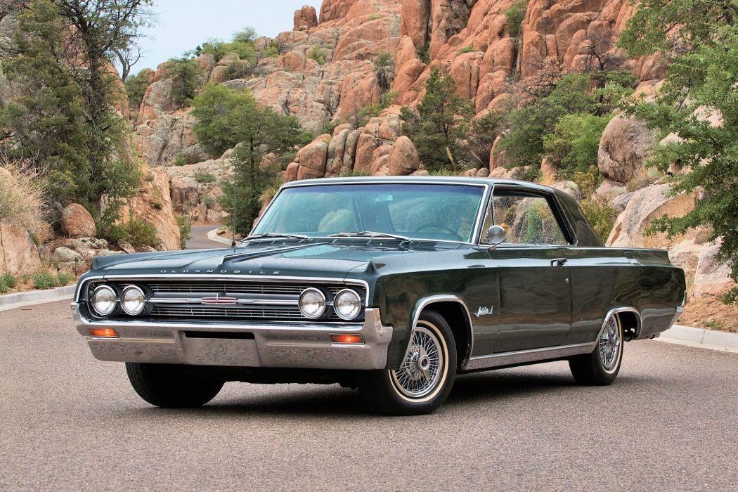1964 Oldsmobile Jetstar I luxury classic muscle wallpaper