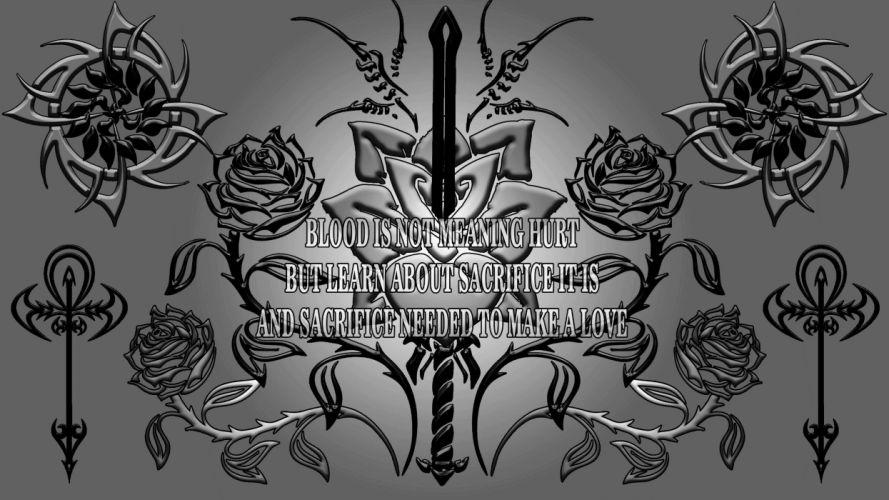 rose of sacrifice wallpaper