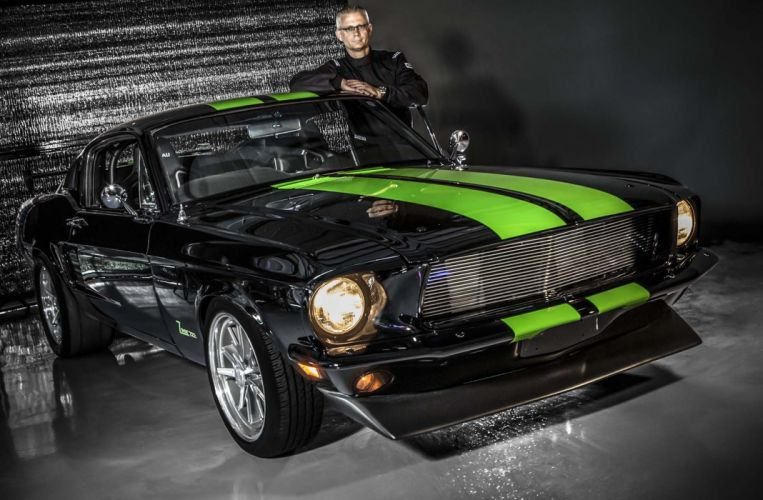 Zombie 222 electric Mustang ford muscle classic hot rod rods wallpaper