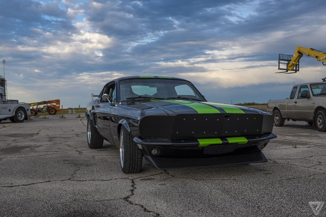 Zombie 222 Electric Mustang Ford Muscle Clic Hot Rod Rods Wallpaper