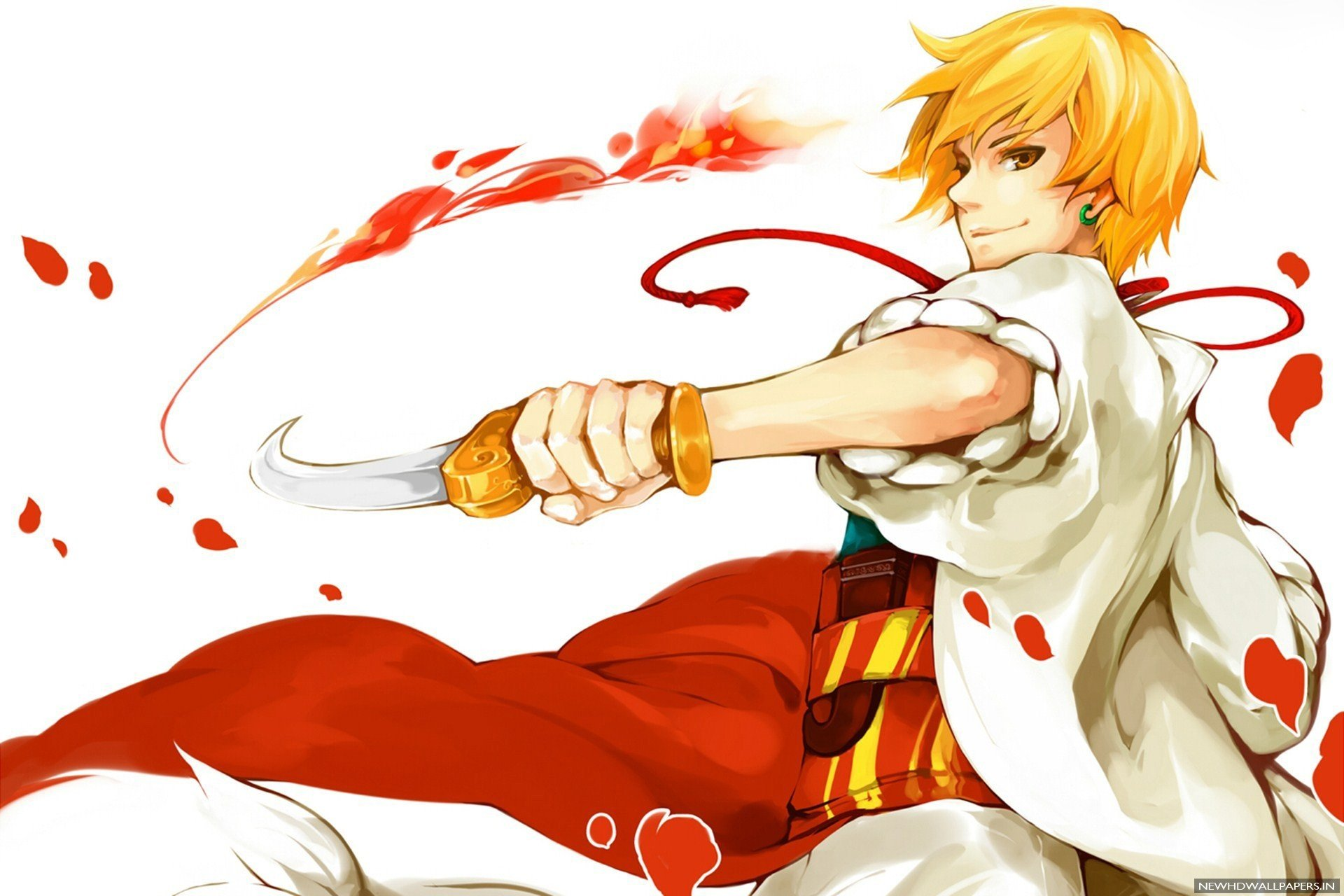 Anime boy blond hair short wallpaper 1920x1280 851065 wallpaperup