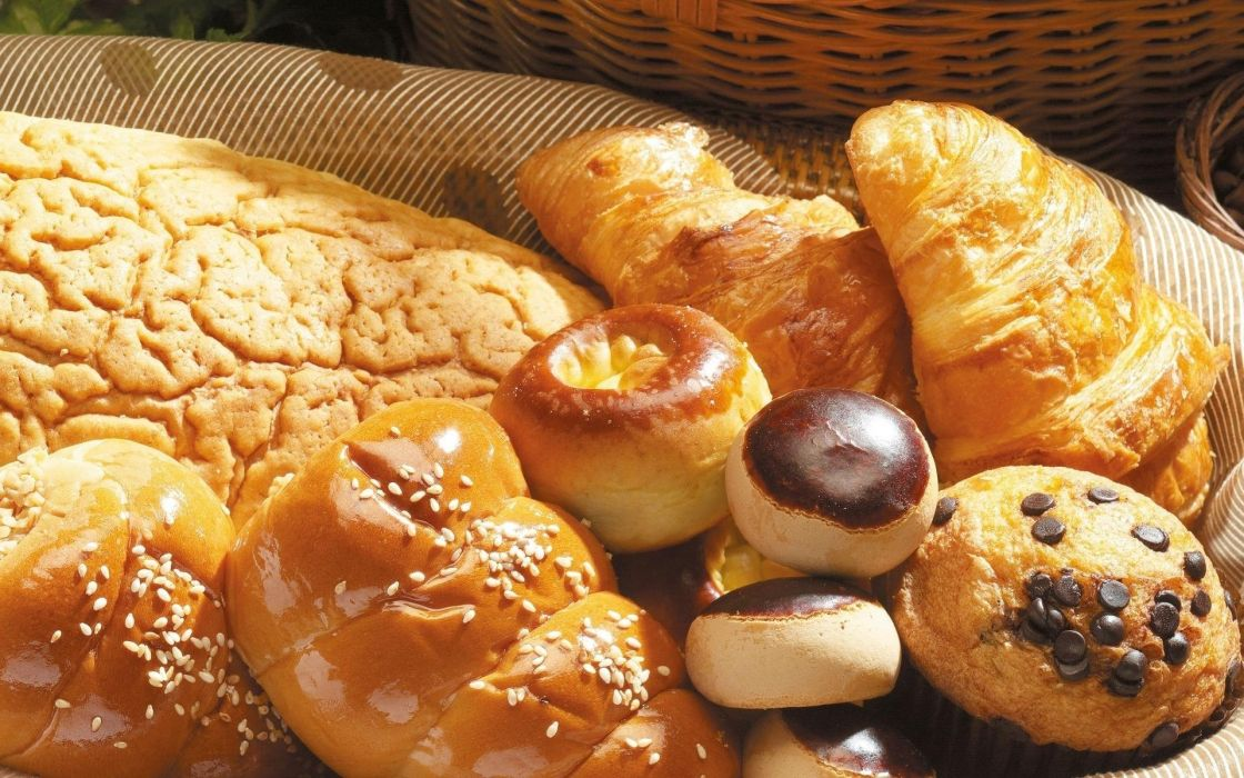 pastry products food wallpaper
