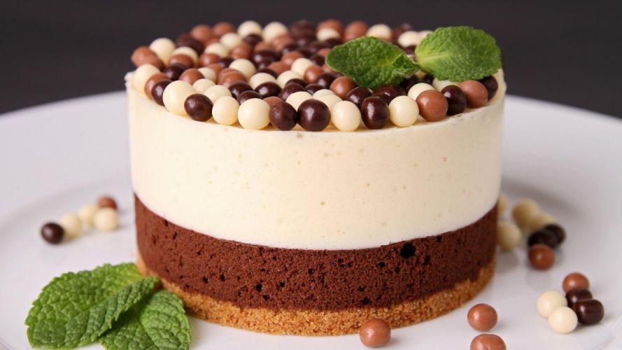 nice chocolate cake food wallpaper
