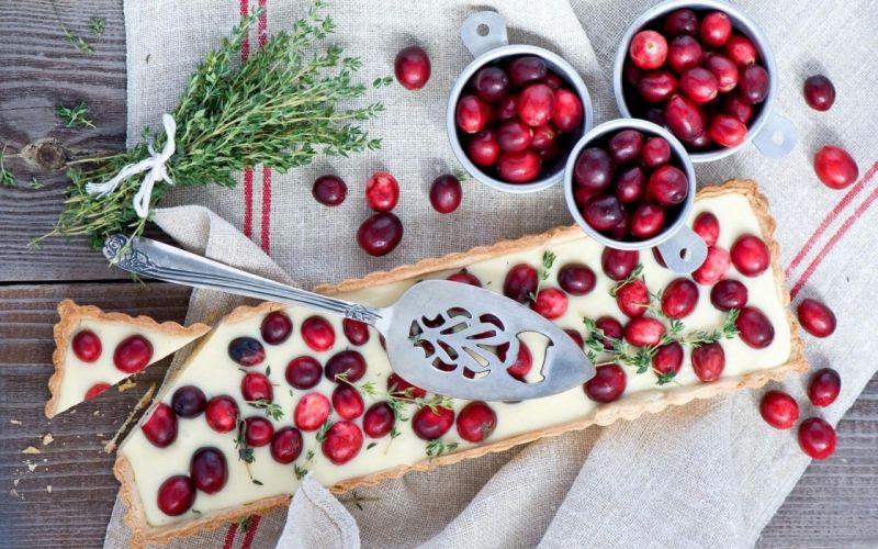 cake dessert berries cranberries food wallpaper