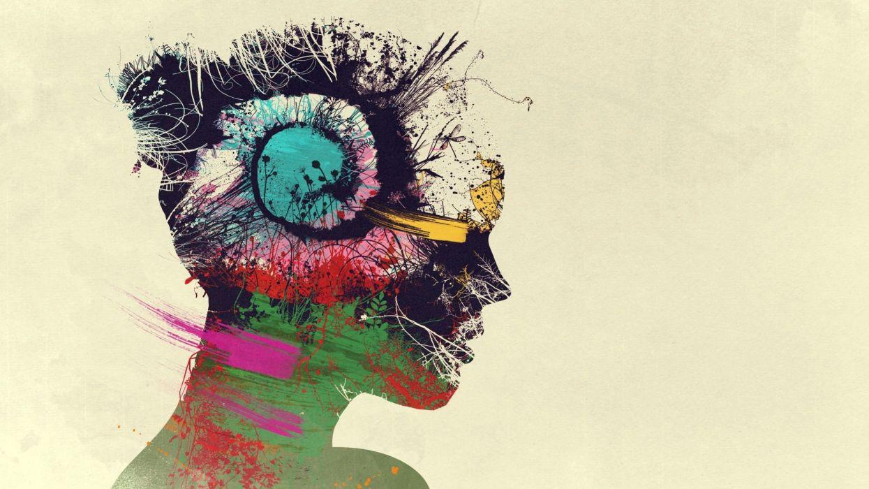 Digital Art Artwork Women wallpaper