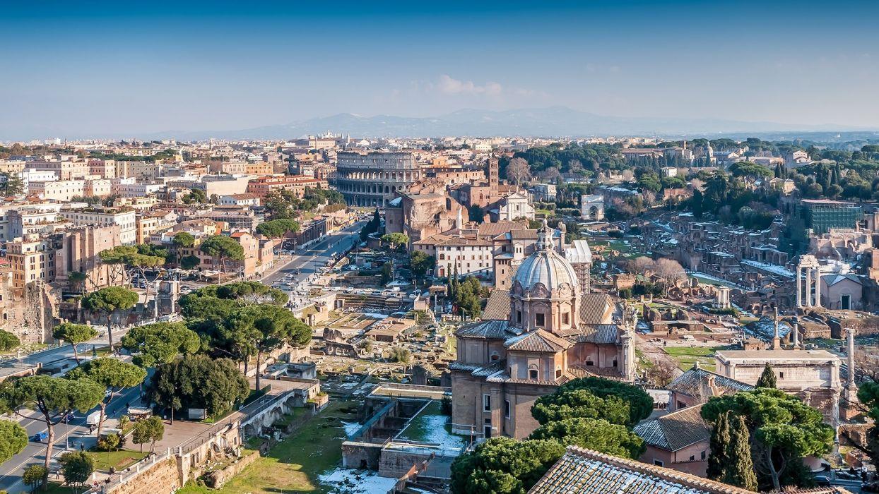 roma italia europa edificios ciudad wallpaper