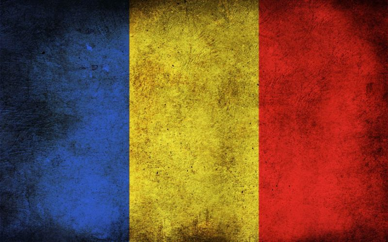 bandera nacional rumania europa wallpaper