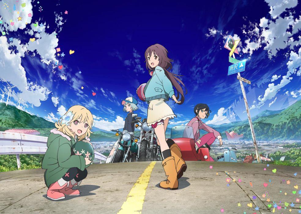 anime girl cute long hair beautiful dress wallpaper