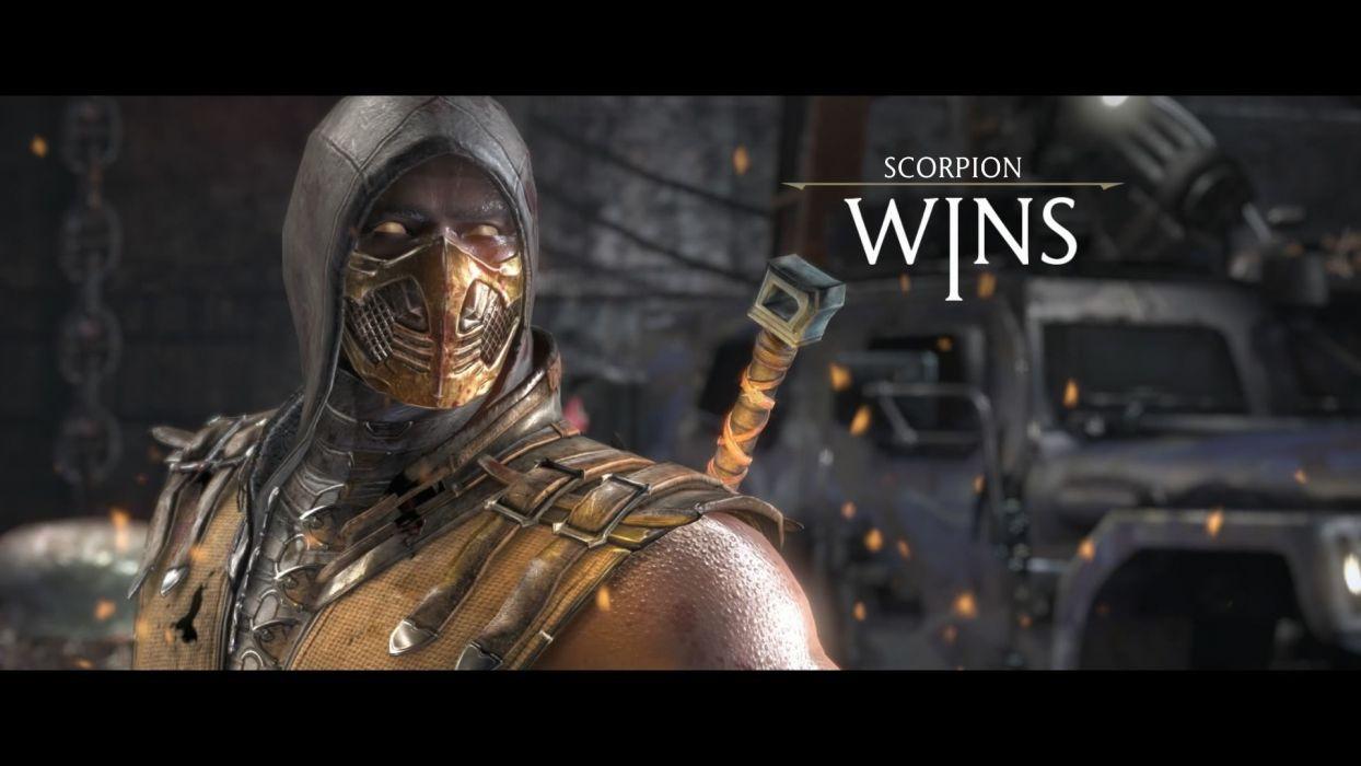 MORTAL KOMBAT X fighting action arena fantasy warrior poster wallpaper