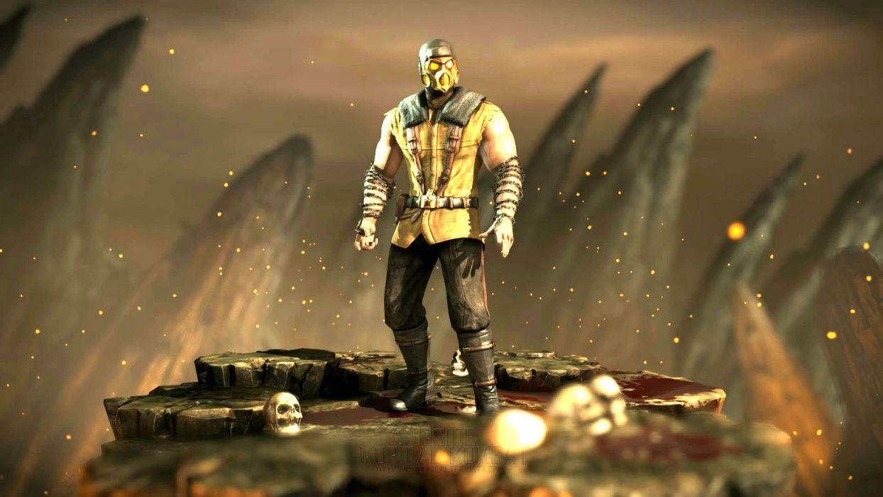 MORTAL KOMBAT X fighting action arena fantasy warrior wallpaper