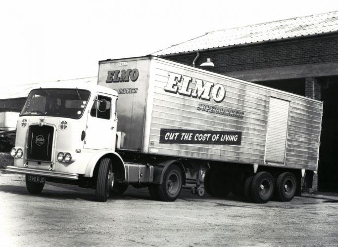 1970 Seddon Atkinson Silver Knight 4x2 semi tractor wallpaper