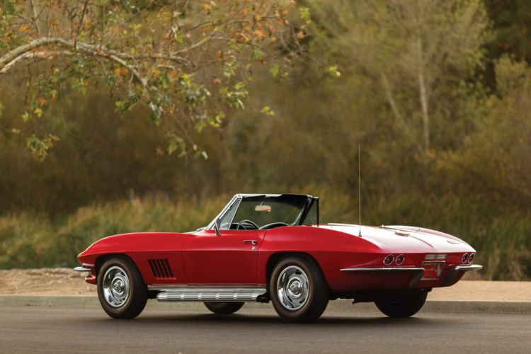 1967 Chevrolet Corvette Sting Ray L79 Convertible muscle supercar stingray classic wallpaper