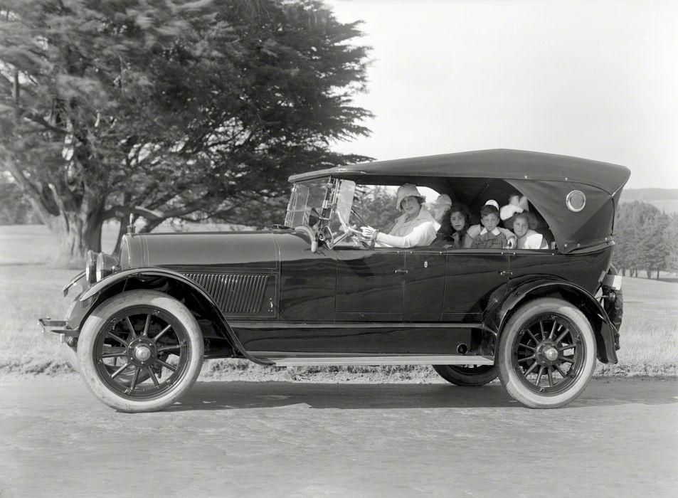 1923 Haynes Model-77 Touring retro vintage wallpaper