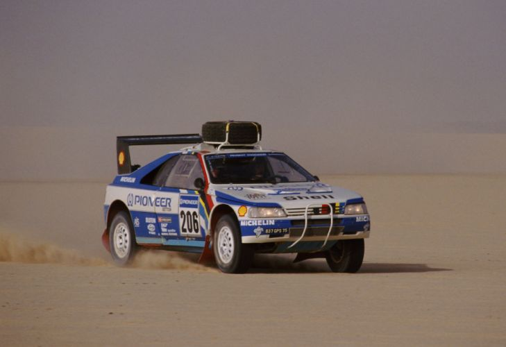 1988 Peugeot 405 T16 Grand Raid Pininfarina dakar offroad race racing rally wallpaper