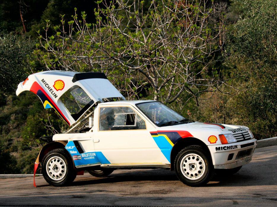 1984-86 Peugeot 205 T16 Rally Pininfarina wrc race racing wallpaper