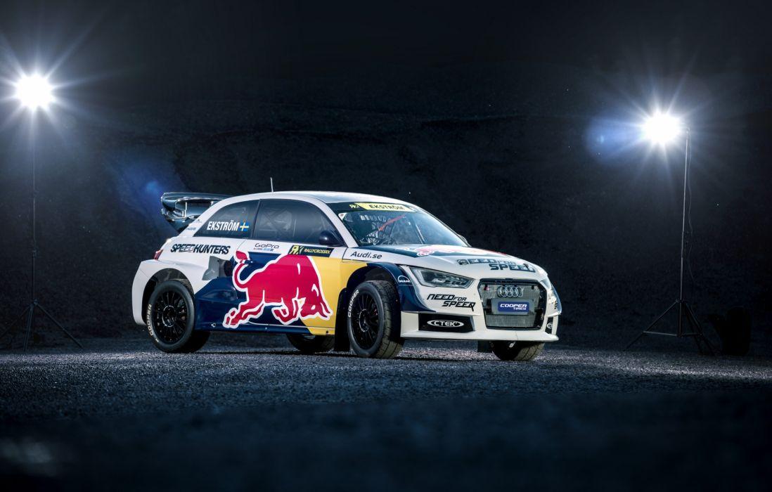 2015 Audi S-1 EKS R-X quattro 8-X rally wrc race racing wallpaper