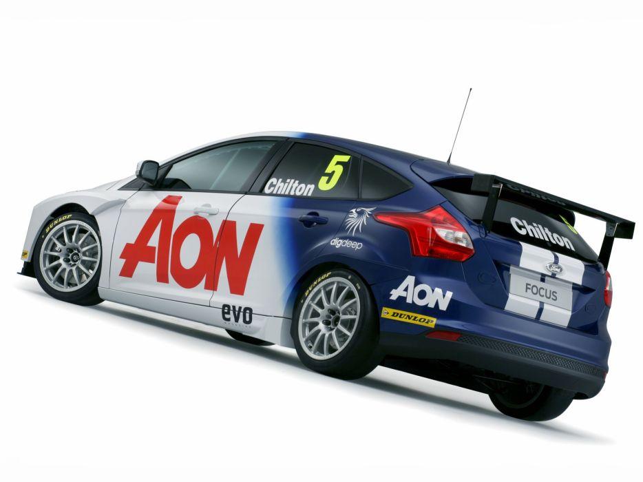 2011 Ford Focus BTCC race racing rally wallpaper