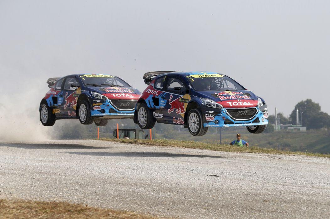 2015 Peugeot 208 WRX rally wrc race racing wallpaper