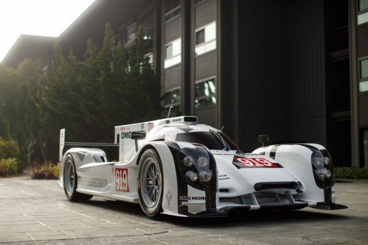 2014 Porsche 919 Hybrid Le-Mans race racing rally lemans wallpaper