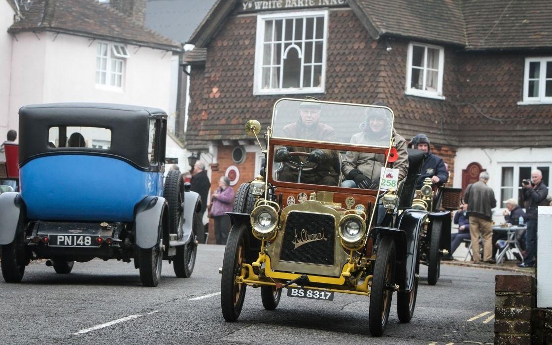 1899-1905 Bonhams Veteran Car Run vintage retro race racing rally ...