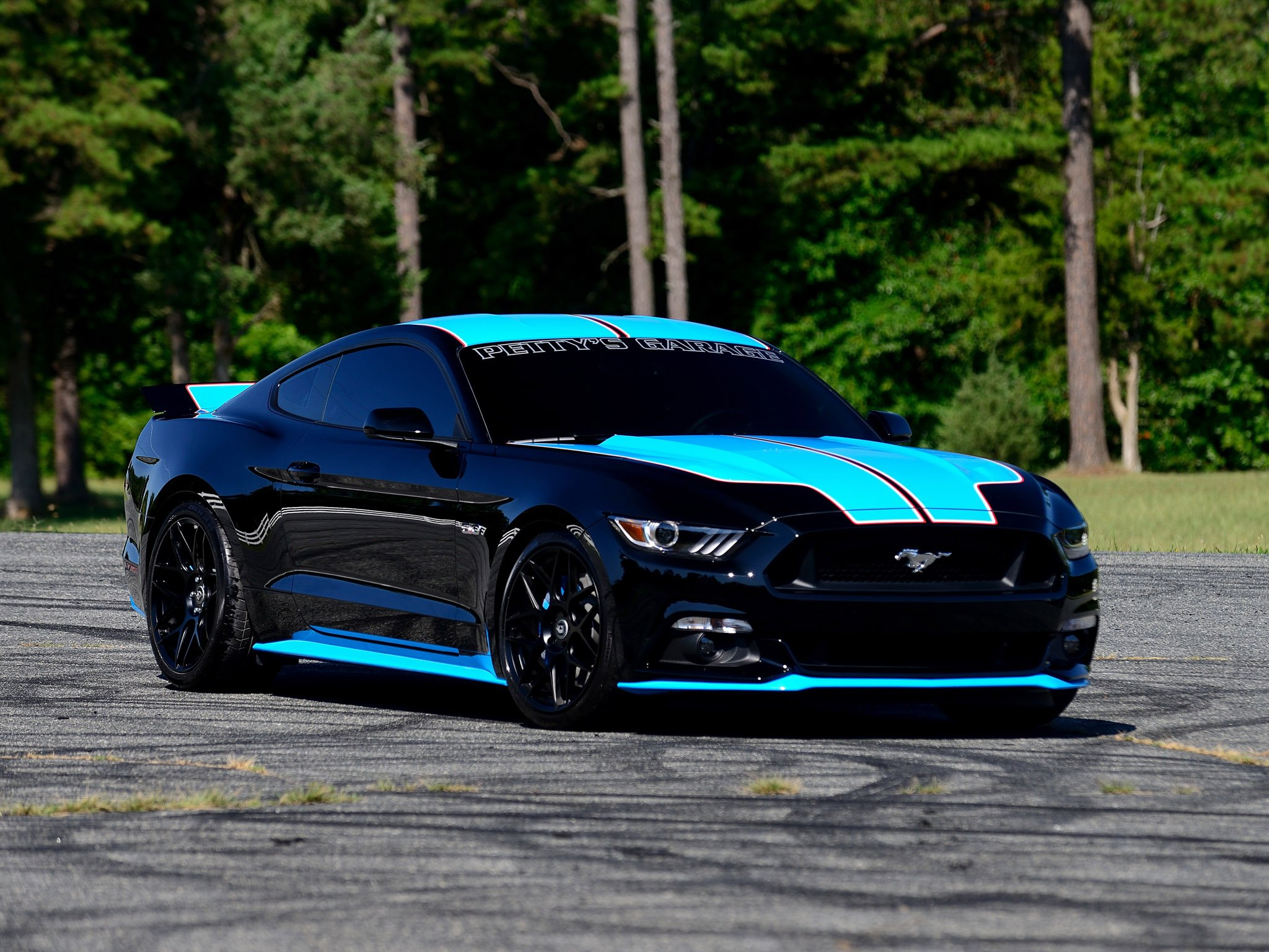 2015 ford mustang g t fastback pettys garage muscle tuning. Black Bedroom Furniture Sets. Home Design Ideas
