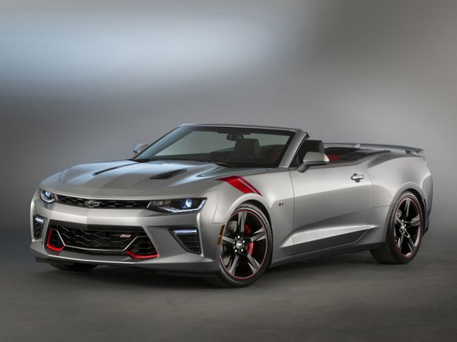 2015 Chevrolet Camaro S-S Convertible Red Accent Package Concept muscle wallpaper