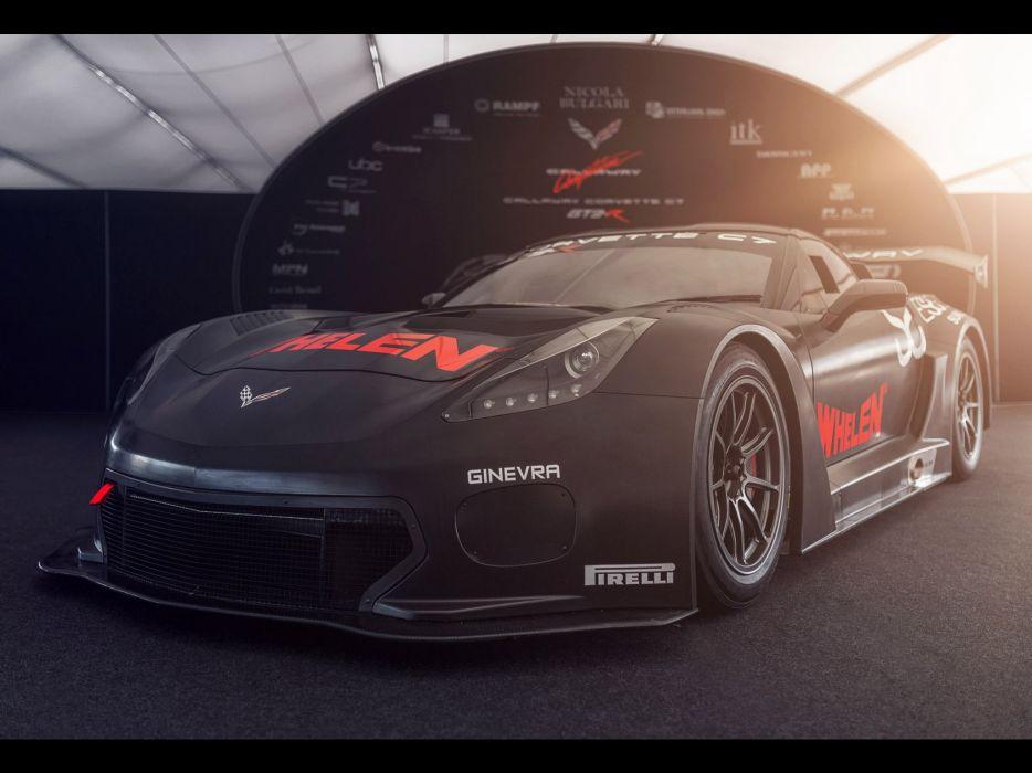 2015 Callaway Corvette C-7 GT3 chevrolet race racing supercar rally lemans le-mans wallpaper