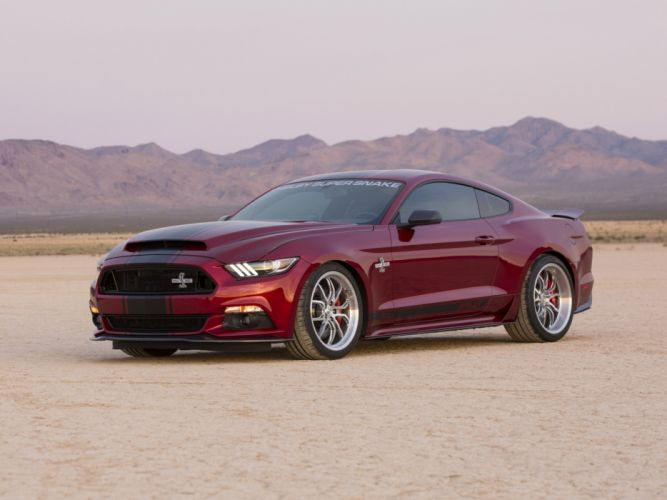 2015 Shelby Ford Mustang Super Snake muscle wallpaper