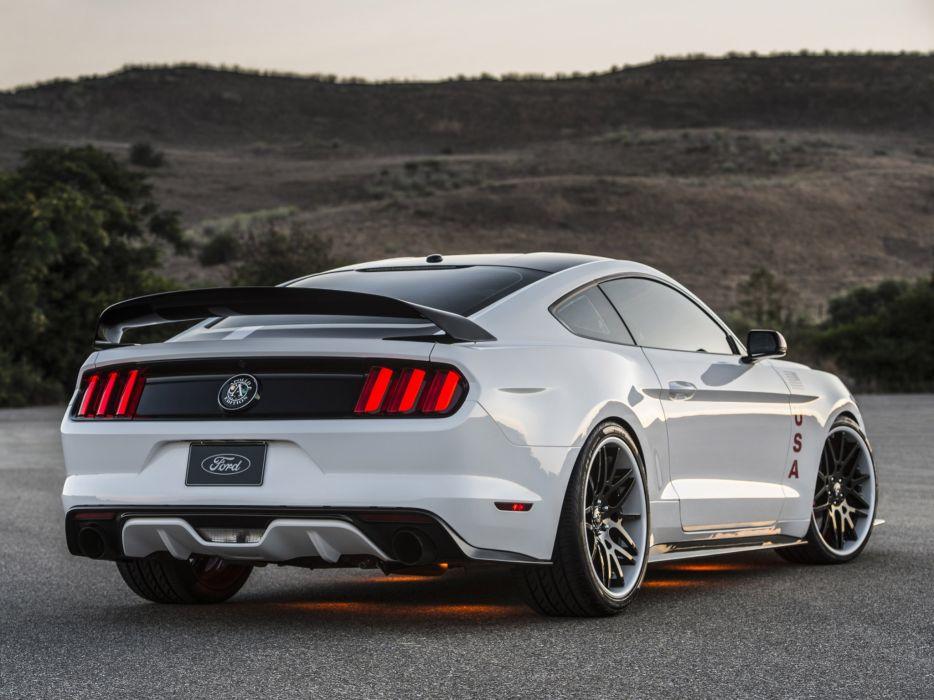 2015 Ford Mustang G T Apollo Edition Muscle Tuning Nasa Wallpaper