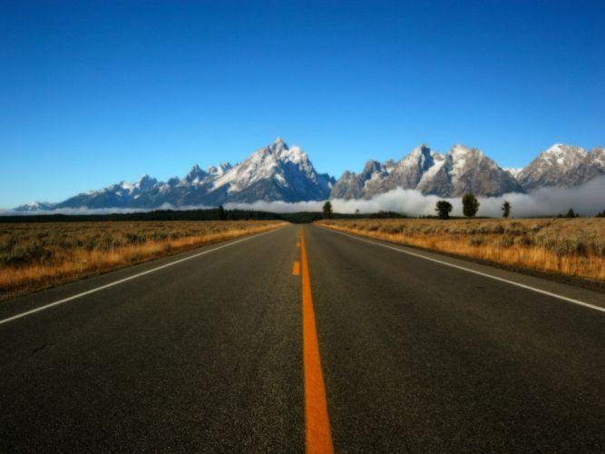 carretera montaA wallpaper