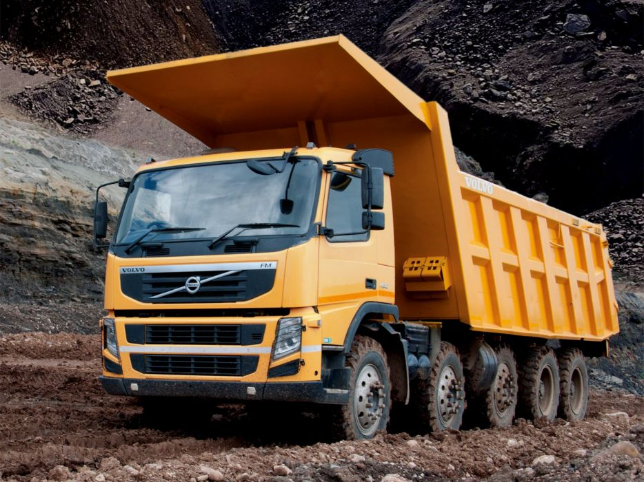 2013 Volvo F-M 480 10x4 Tipper dump dumptruck construction semi tractor wallpaper