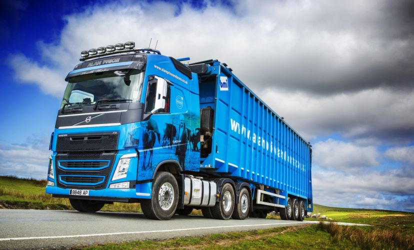 2014 Volvo F-H 540 6A wallpaper