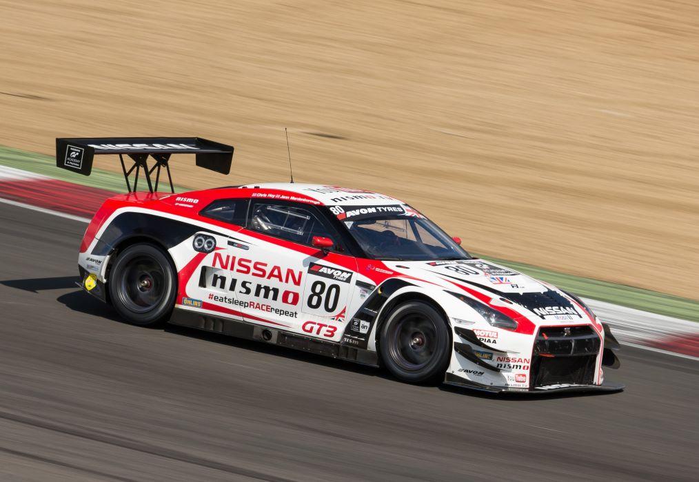 2015 Nismo Nissan GT-R GT3 R35 rally race racing wallpaper