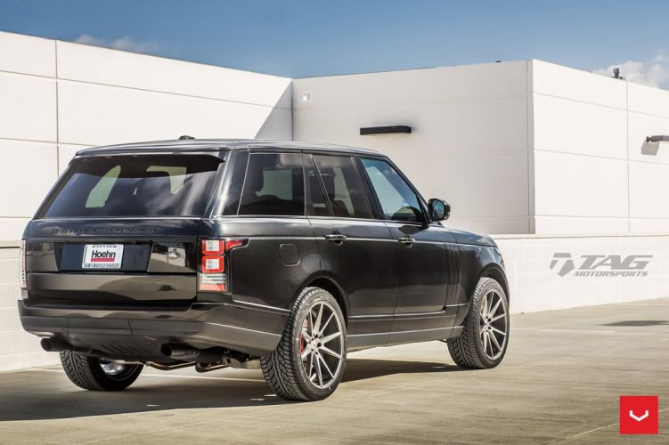 Vossen Wheels Range Rover suv cars black wallpaper