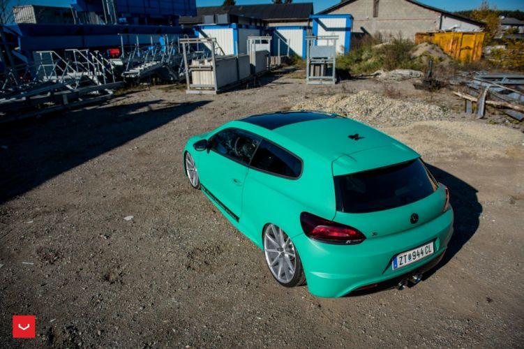 Vossen Wheels Volkswagen Scirocco cars modified wallpaper