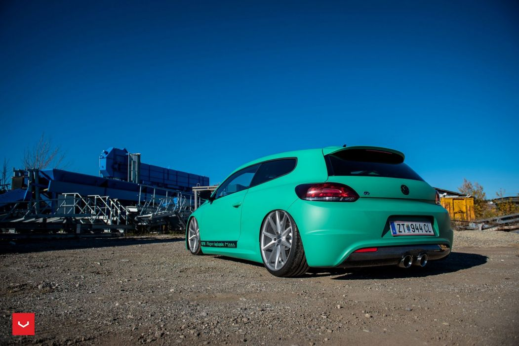 Vossen Wheels Volkswagen Scirocco cars modified wallpaper