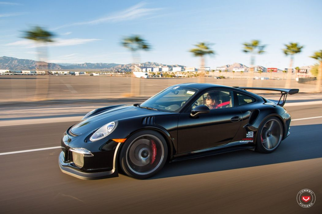 Vossen Wheels 991 GT3 RS cayman gt4 cars COUPE modified black wallpaper
