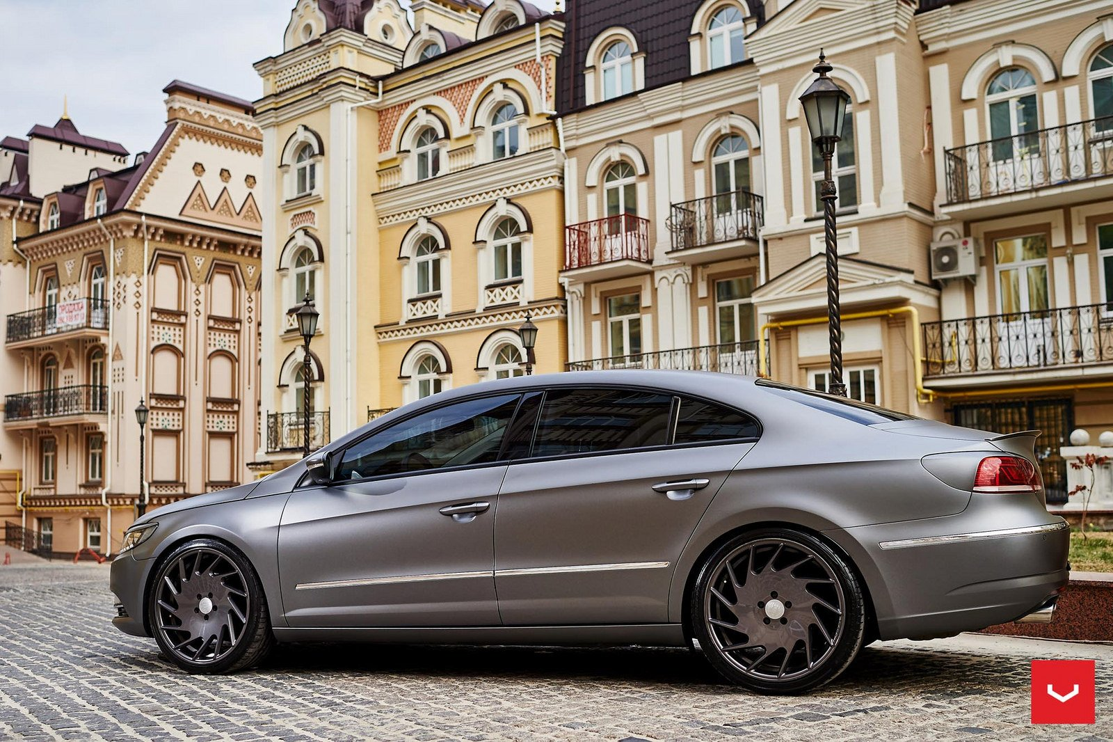 vossen wheels volkswagen cc cars sedan modified wallpaper. Black Bedroom Furniture Sets. Home Design Ideas
