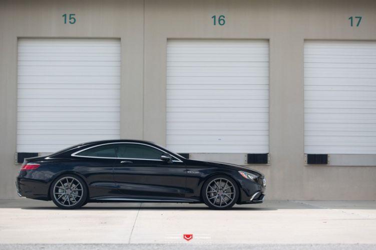 Vossen Wheels mercedes s65 coupe cars black wallpaper